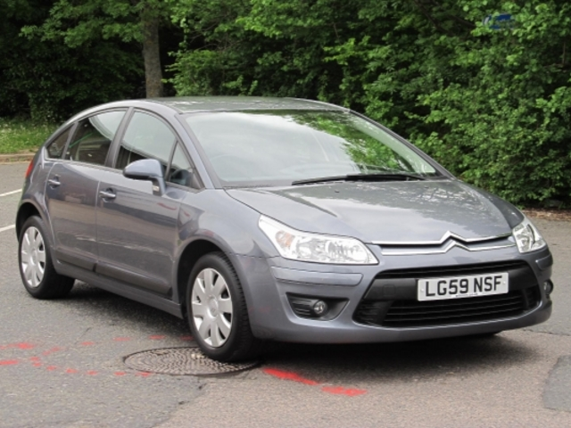 used citroen c4 2009 manual unleaded gray for sale uk autopazar. Black Bedroom Furniture Sets. Home Design Ideas