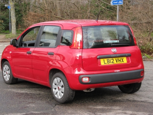 used fiat panda car 2012 cancan red petrol for sale in epsom uk autopazar. Black Bedroom Furniture Sets. Home Design Ideas