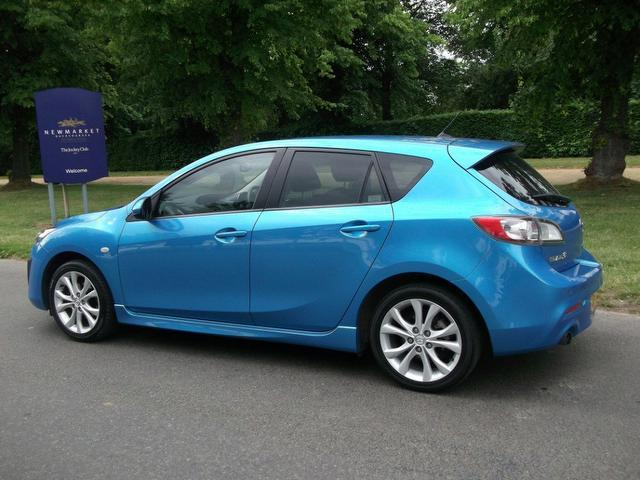 used mazda mazda3 2010 manual petrol 1 6 sport 5 door blue for sale uk autopazar. Black Bedroom Furniture Sets. Home Design Ideas