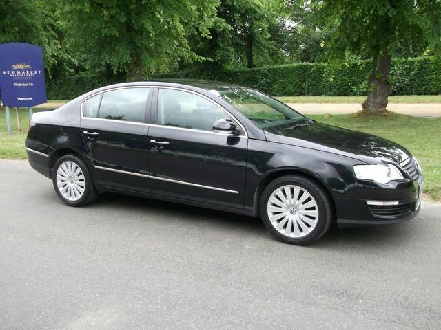 Used Cars Under 8000 >> Used Volkswagen Passat 2008 Diesel 2.0 Highline Tdi 4dr Saloon Black Edition For Sale In ...