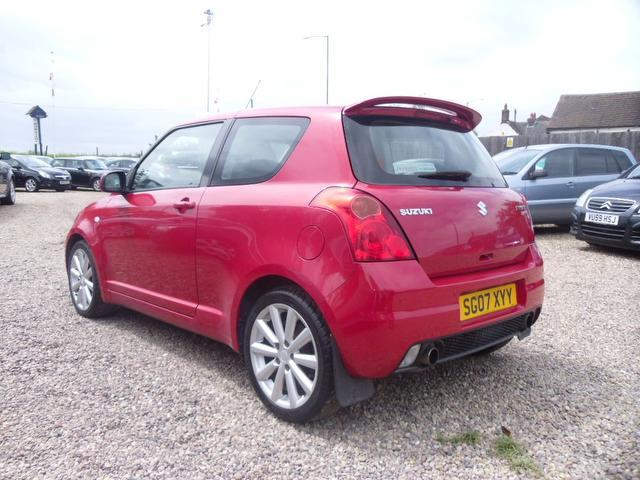 used suzuki swift 2007 petrol 1 6 vvt sport 3dr hatchback red edition for sale in nuneaton uk. Black Bedroom Furniture Sets. Home Design Ideas