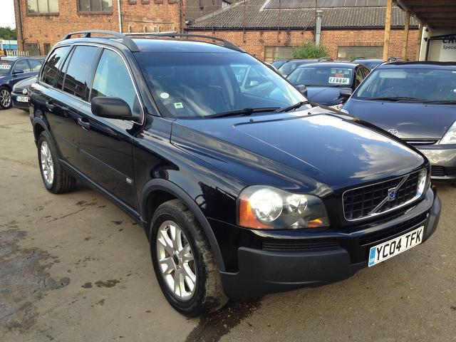 used black volvo xc90 2004 diesel 2 4 d5 se 5dr 4x4 excellent condition for sale autopazar. Black Bedroom Furniture Sets. Home Design Ideas