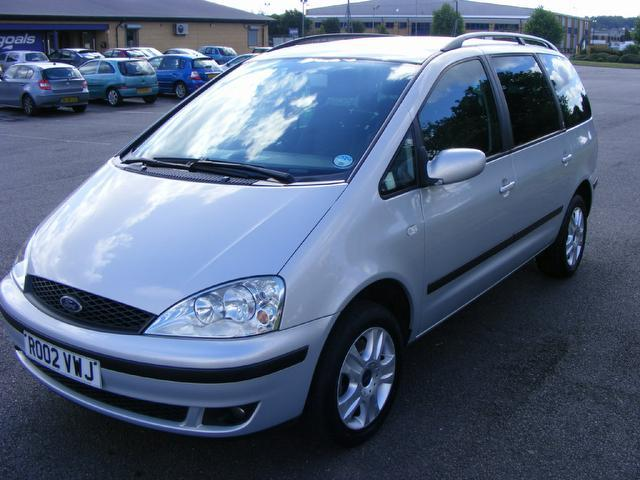 used grey ford galaxy 2002 diesel 1 9 td ghia 5dr estate. Black Bedroom Furniture Sets. Home Design Ideas