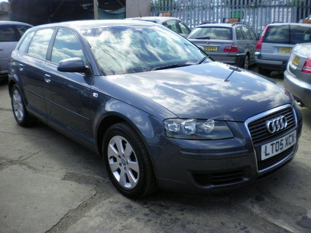 used audi a3 2 0 2005 petrol fsi se 5dr hatchback grey automatic for sale in wembley uk autopazar. Black Bedroom Furniture Sets. Home Design Ideas