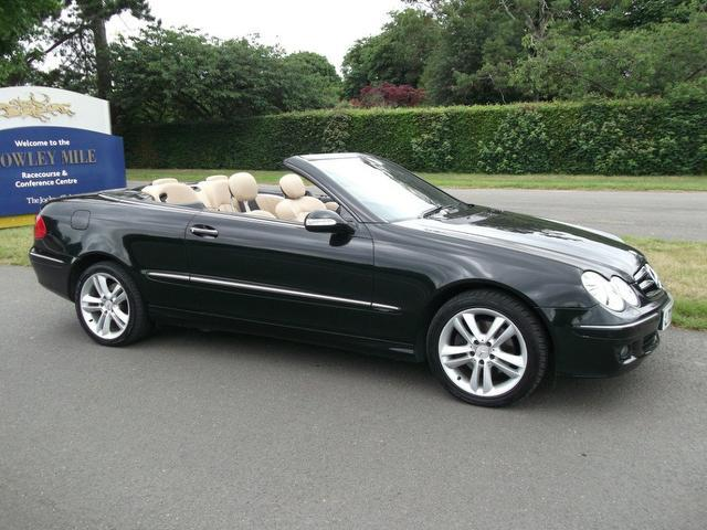 Used Mercedes Benz 2007 Black Convertible Petrol Automatic for Sale