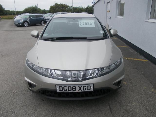 Used Honda Civic 2008 Manual Petrol 1 8 I Vtec Se 5 Door Silver For Sale Uk Autopazar