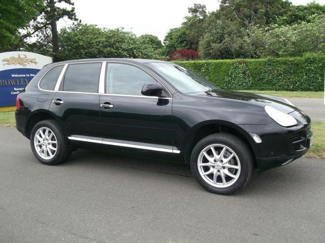 Used Porsche Cayenne 2006 Black 4x4 Petrol Manual for Sale