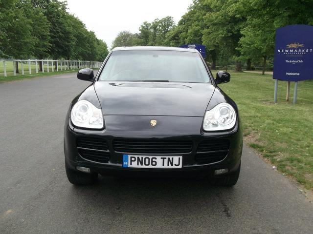 Used Porsche Cayenne 5 Door Tiptronic S 3.2 4x4 Black 2006 Petrol for Sale in UK