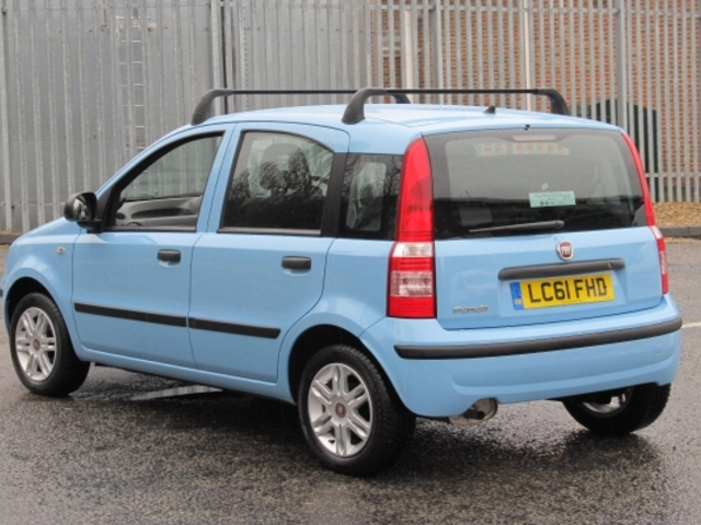 used blue fiat panda 2011 petrol excellent condition for sale autopazar. Black Bedroom Furniture Sets. Home Design Ideas
