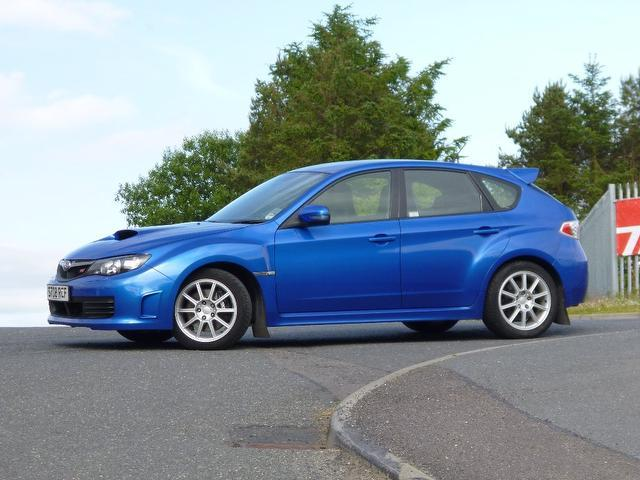Used Subaru Impreza 2.5 Wrx Sti Type Hatchback Blue 2008 Petrol for Sale in UK