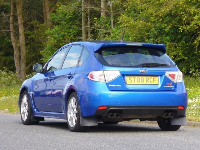 used 2008 subaru impreza hatchback 2 5 wrx sti type petrol. Black Bedroom Furniture Sets. Home Design Ideas