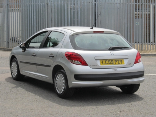 Used Peugeot 207  Silver 2009 Petrol for Sale in UK