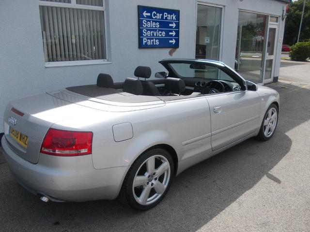 used 2008 audi a4 convertible silver edition 2 0 tdi s. Black Bedroom Furniture Sets. Home Design Ideas