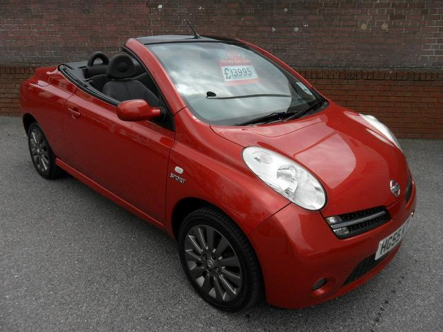 used nissan micra 2006 red colour petrol 1 6 sport 2 door. Black Bedroom Furniture Sets. Home Design Ideas