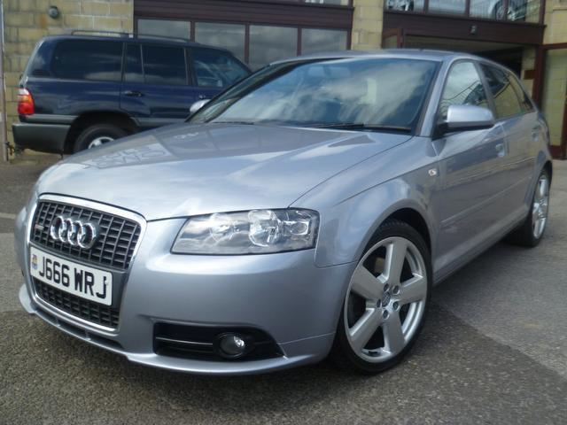 used audi a3 2007 grey paint diesel 2 0 tdi 170 s hatchback for sale in penzance uk autopazar. Black Bedroom Furniture Sets. Home Design Ideas