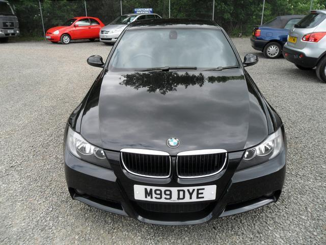 used bmw 3 series 2006 diesel 318d m sport saloon black edition for sale in inveralmond place uk. Black Bedroom Furniture Sets. Home Design Ideas
