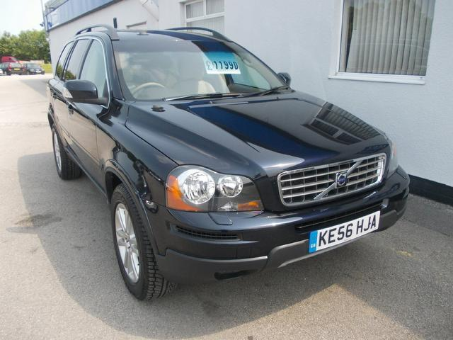 used volvo xc90 2006 model 2 4 d5 se 5dr diesel 4x4 blue for sale in wirral uk autopazar. Black Bedroom Furniture Sets. Home Design Ideas