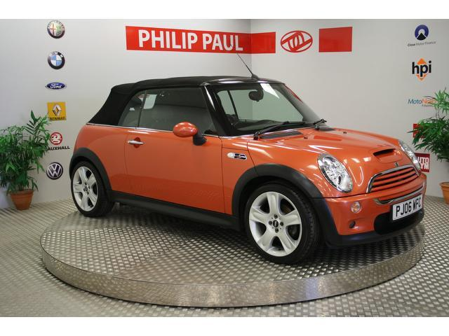 used mini cooper 2006 petrol s 1 6 convertible orange edition for sale in oswestry uk autopazar. Black Bedroom Furniture Sets. Home Design Ideas