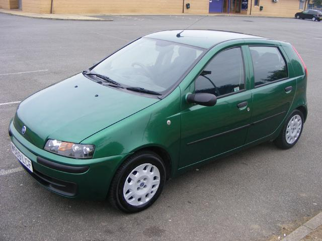 used fiat punto 2000 petrol 1 2 16v elx speedgear hatchback green edition for sale in wembley uk. Black Bedroom Furniture Sets. Home Design Ideas