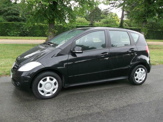 Used Mercedes Benz Class A160 Cdi Classic Hatchback Black 2010 Diesel for Sale in UK