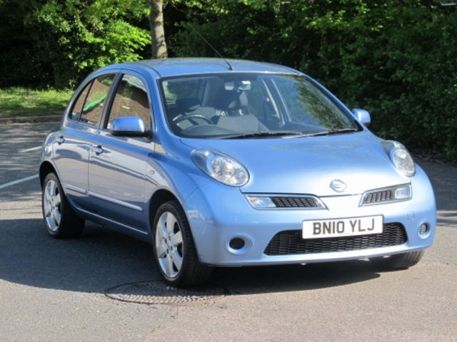used nissan micra 2010 petrol blue with for sale autopazar. Black Bedroom Furniture Sets. Home Design Ideas