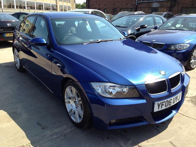 Bmw 3 series 2006 blue