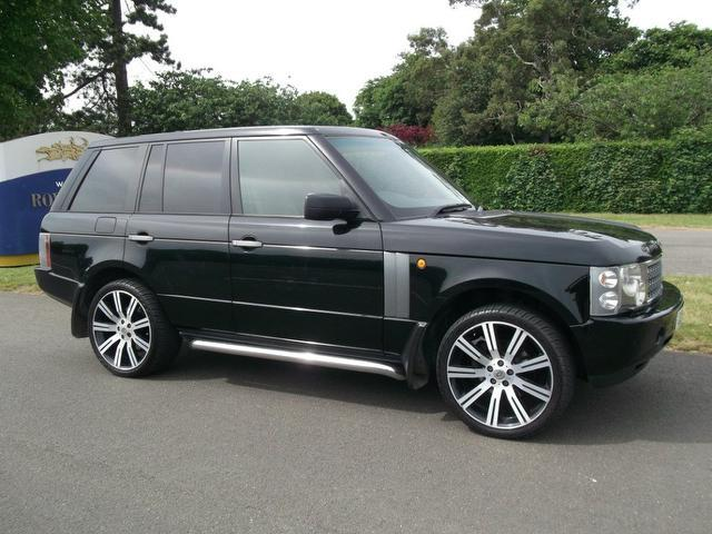 used land rover range car 2005 black diesel 3 0 td6 4x4 for sale in newmarket uk autopazar. Black Bedroom Furniture Sets. Home Design Ideas