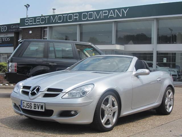 Used 2006 mercedes benz convertible silver edition 280 2dr for Used convertible mercedes benz for sale