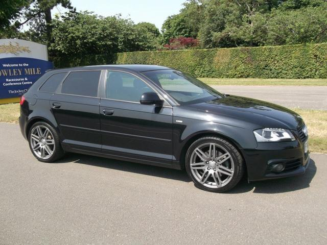 used audi a3 2009 diesel 2 0 tdi 170 black hatchback with full service history for sale autopazar. Black Bedroom Furniture Sets. Home Design Ideas