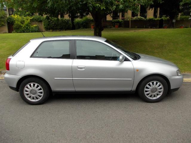 Used Audi A3 2000 Manual Petrol 1.6 Se 3 Door Silver For
