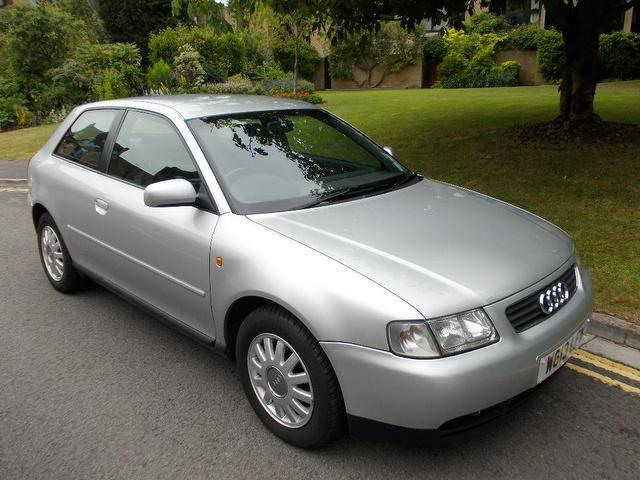 used audi a3 2000 manual petrol 1 6 se 3 door silver for sale uk autopazar. Black Bedroom Furniture Sets. Home Design Ideas