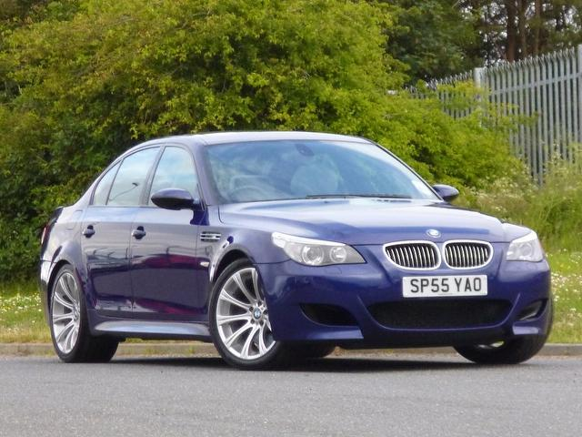 Used Blue Bmw M5 2005 Petrol 4dr Smg 5.0 Saloon In Great Condition ...
