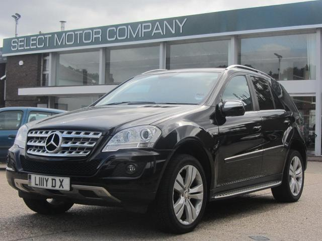Used mercedes benz car 2009 black diesel class ml350 cdi for Mercedes benz 2009 for sale