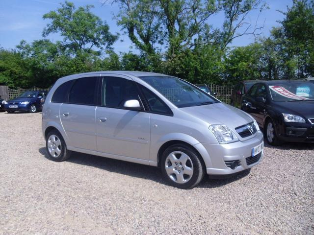 Used Vauxhall Meriva 2007 Silver Estate Petrol Manual for Sale
