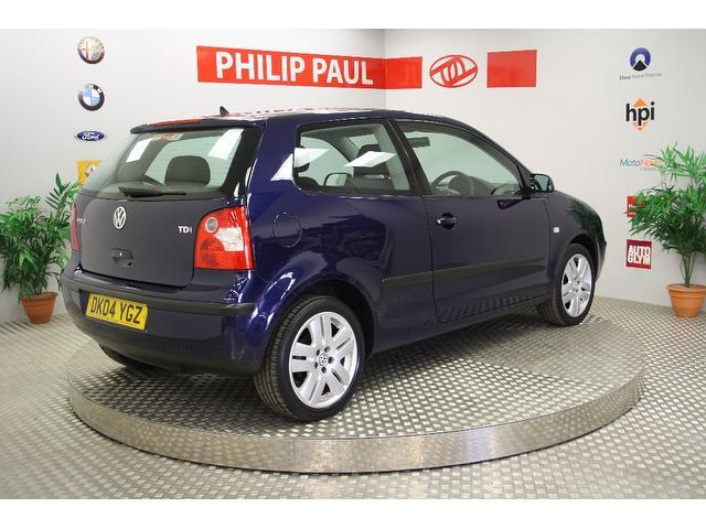 Used Volkswagen Polo 1.4 Se Tdi 75 Hatchback Blue 2004 Diesel for Sale in UK