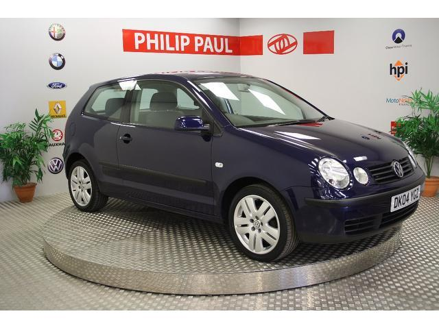 Used Volkswagen Polo 2004 Blue Hatchback Diesel Manual for Sale