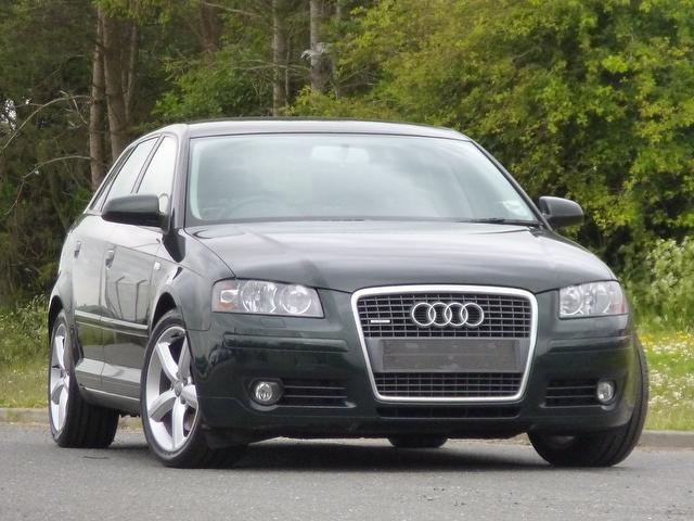 used audi a3 2008 green paint diesel 2 0 tdi 170 quattro hatchback for sale in turrif uk autopazar. Black Bedroom Furniture Sets. Home Design Ideas