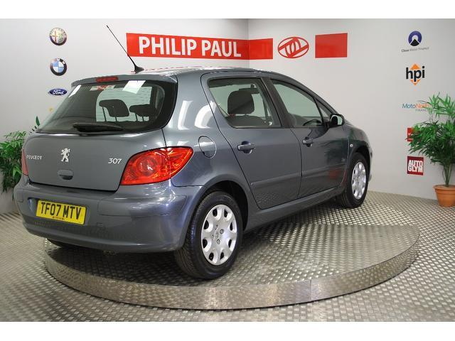 Used Peugeot 307 1.4 X-line 5 Door 1 Hatchback Grey 2007 Petrol for Sale in UK