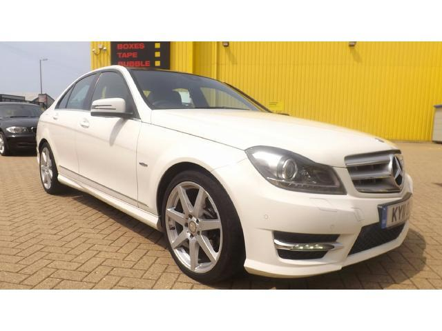 Used mercedes benz 2011 diesel class c220 cdi for Used white mercedes benz for sale