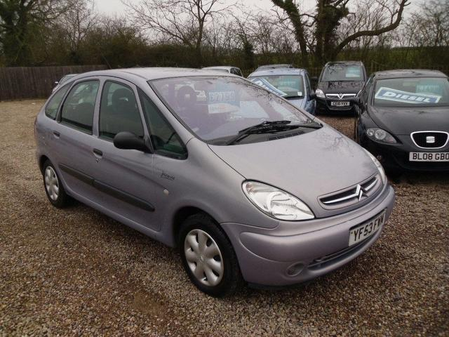 used 2003 citroen xsara estate picasso 2 0 hdi sx diesel. Black Bedroom Furniture Sets. Home Design Ideas