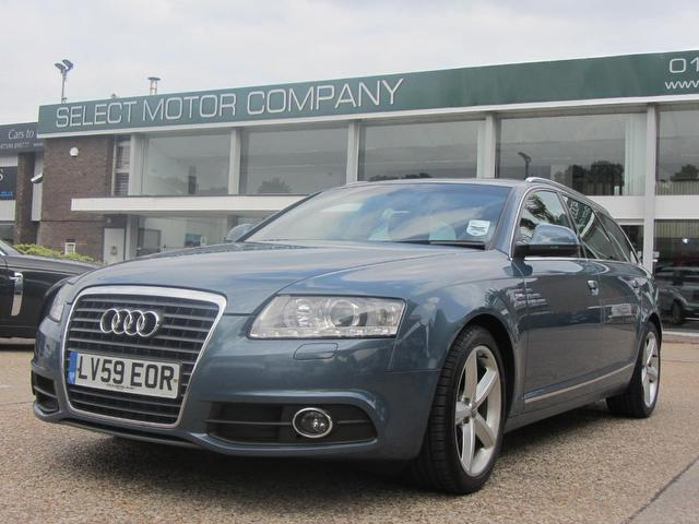 used audi a6 car 2009 blue diesel 2 0 tdi s line estate for sale in sevenoaks uk autopazar. Black Bedroom Furniture Sets. Home Design Ideas
