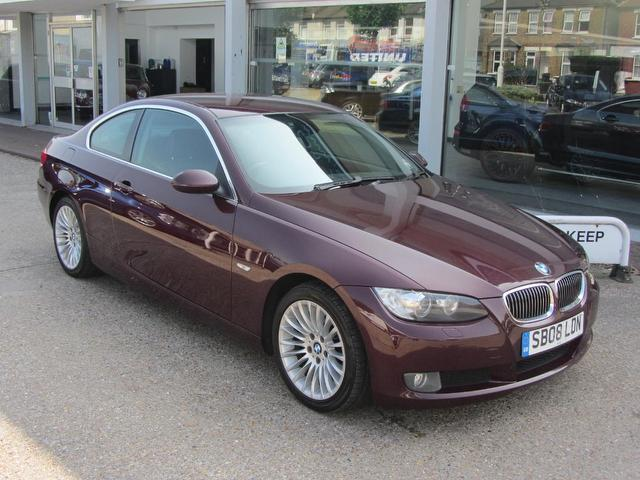 used 2008 bmw 3 series coupe red edition 325i 3 0 se petrol for sale in sevenoaks uk autopazar. Black Bedroom Furniture Sets. Home Design Ideas