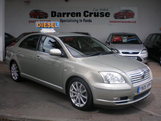 Used Toyota Avensis 2005 Silver Saloon Diesel Manual for Sale