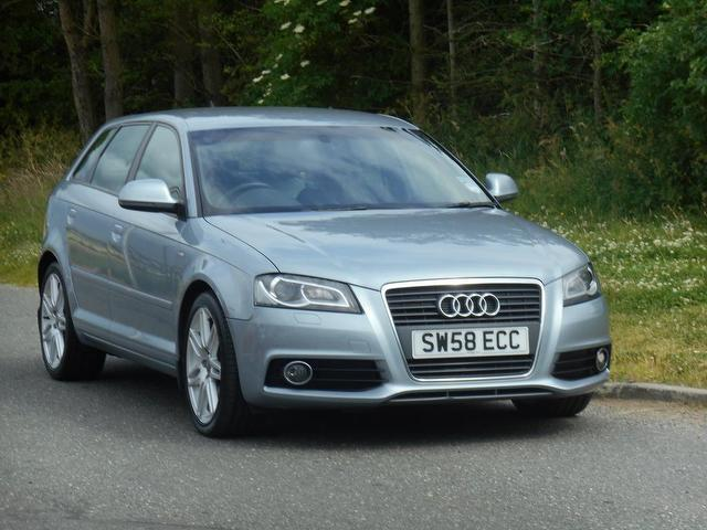 used silver audi a3 2009 diesel 2 0 tdi 170 s hatchback in great condition for sale autopazar. Black Bedroom Furniture Sets. Home Design Ideas
