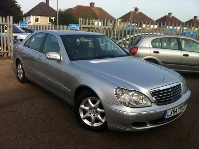 Used silver mercedes benz 2005 diesel class s320l cdi 4dr for Used mercedes benz diesel for sale