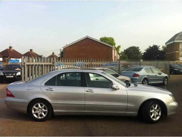 Used silver mercedes benz 2005 diesel class s320l cdi 4dr for 2005 mercedes benz e320 cdi diesel for sale
