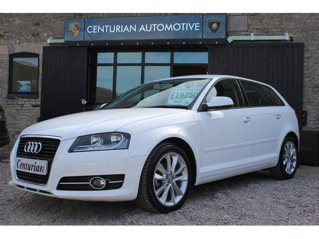 used audi a3 2013 model 1 6 tdi sport 5dr diesel hatchback white for sale in kettering uk. Black Bedroom Furniture Sets. Home Design Ideas