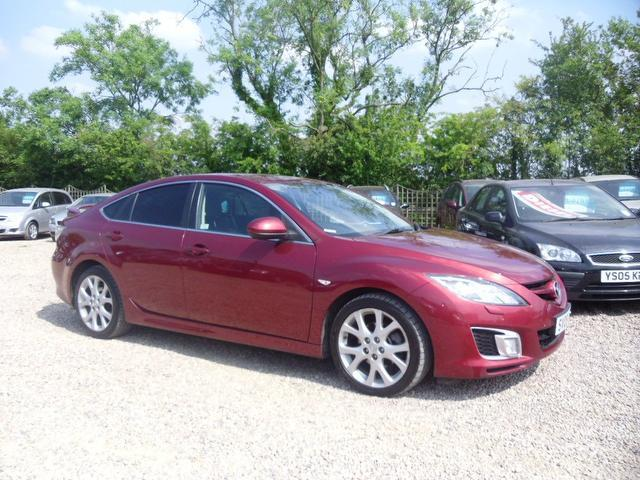used mazda mazda6 2009 diesel sport 185 5dr hatchback red edition for sale in nuneaton uk. Black Bedroom Furniture Sets. Home Design Ideas