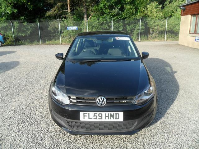 Used Volkswagen Polo 1.6 Tdi Se 5 Door Hatchback Black 2009 Diesel for Sale in UK
