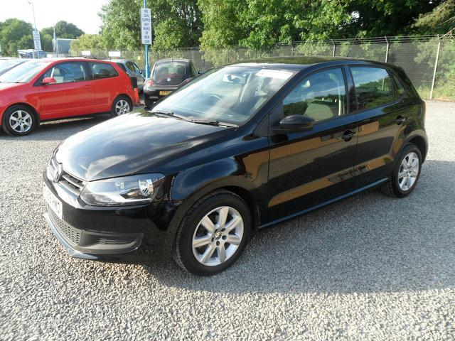 Used Volkswagen Polo 2009 Black Hatchback Diesel Manual for Sale